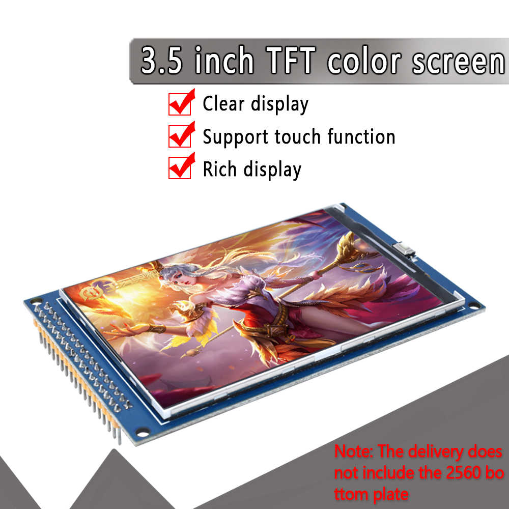 HUIMAI 3.5 inch TFT LCD screen module Ultra HD 320X480 for Arduino MEGA 2560 R3 Board
