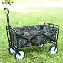 Home Garden Trolley Utility Foldable Wagon Cart Multifunctio