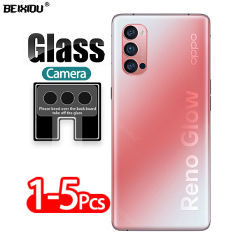 5 Pcs Camera Lens Vetro Temperato Per Oppo Reno 4 Pro 5G di Protezione Protezione Dello Schermo di Vetro per Oppo Reno 4 5G