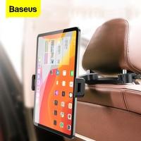 Baseus-soporte plegable de teléfono para asiento trasero de coche, Universal, para iPad, iPhone, Samsung y Tablet