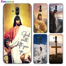 Soft TPU Cover Bible Jesus Christ Christian for Huawei Mate 30 20 20X 10 Lite Y9 Y7 Y6 Y5 Pro Prime Lite 2019 2018 Phone Case(China)