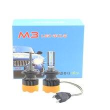 SHUOKE Mi9 LED Headlight 1860 Chip 12V 24W 2.3A 1800LM 6000K H1 H3 H7 H27 880 9005 9006 H10 H11 5202 H4 H13 9007 9004 Hi Lo
