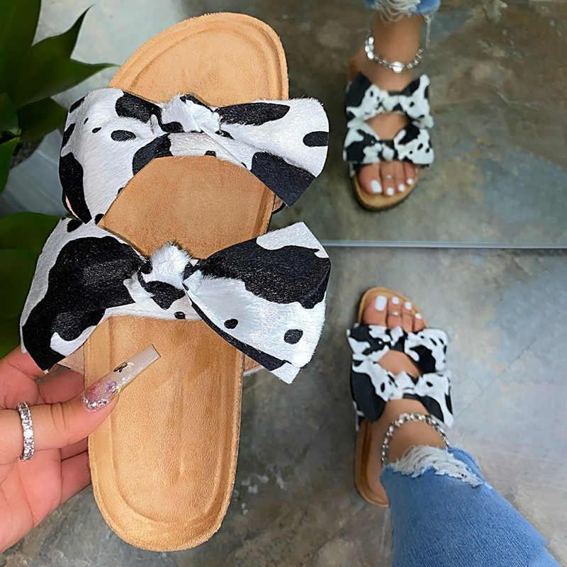 Yaz kadın terlik yeni 2020 rahat günlük platformu üzerinde kayma kadın sandalet terlik kadın açık ayak kadın ayakkabı boyutu 10