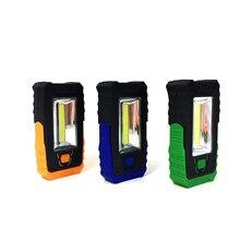 MingRay Battery Powred portable universal LED Lantern flashlight belt clip hook magnetic adjustable base for repair camping