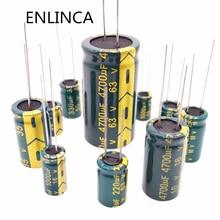 5-20pcs 10V 16V 25V 35V 50V Low ESR high frequency aluminum capacitor 2.2uf 4.7uf 6.8uf 10uf 22uf 33uf 68uf 82uf 120uf 150uf цена