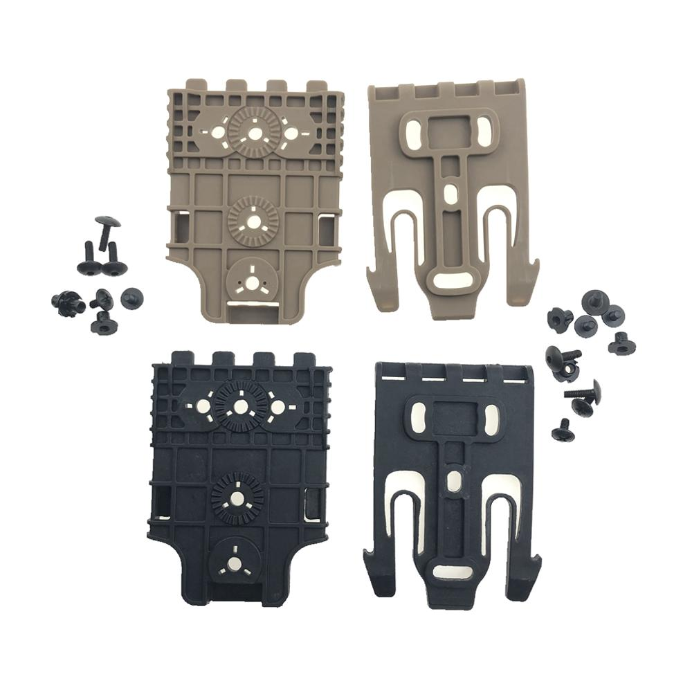 New Safariland Quick Locking System Kit Safariland QLS System Duty Receiver Plate Fit All Glock 1911 M9 P226