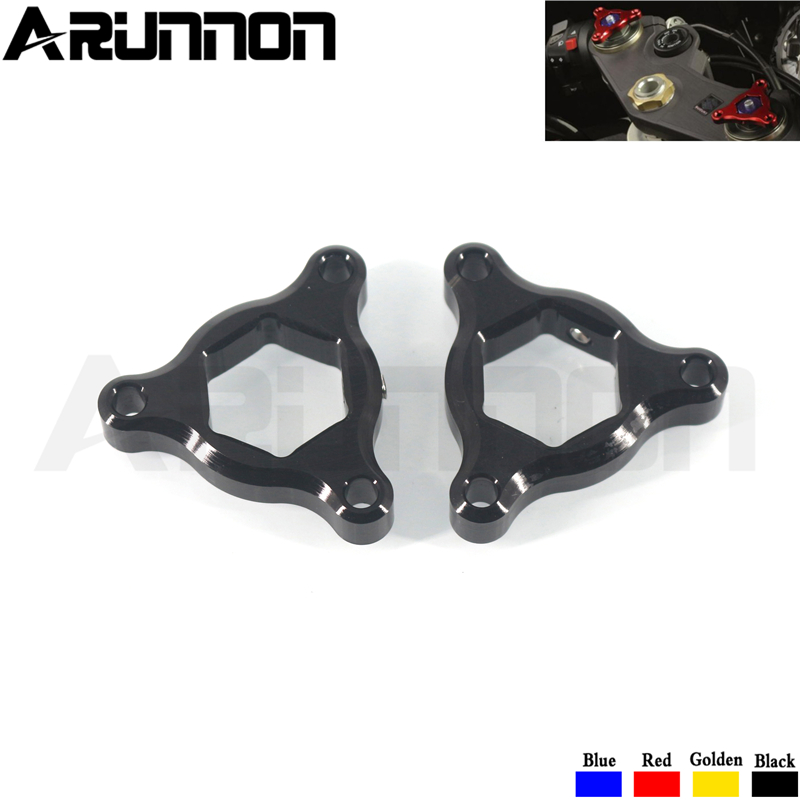 For <font><b>SUZUKI</b></font> GSR750 GSR 750 2011-2016 <font><b>GSX1400</b></font> GSX 1400 2001-2007 Motorcycle CNC Aluminum Suspension Fork Preload Adjusters image