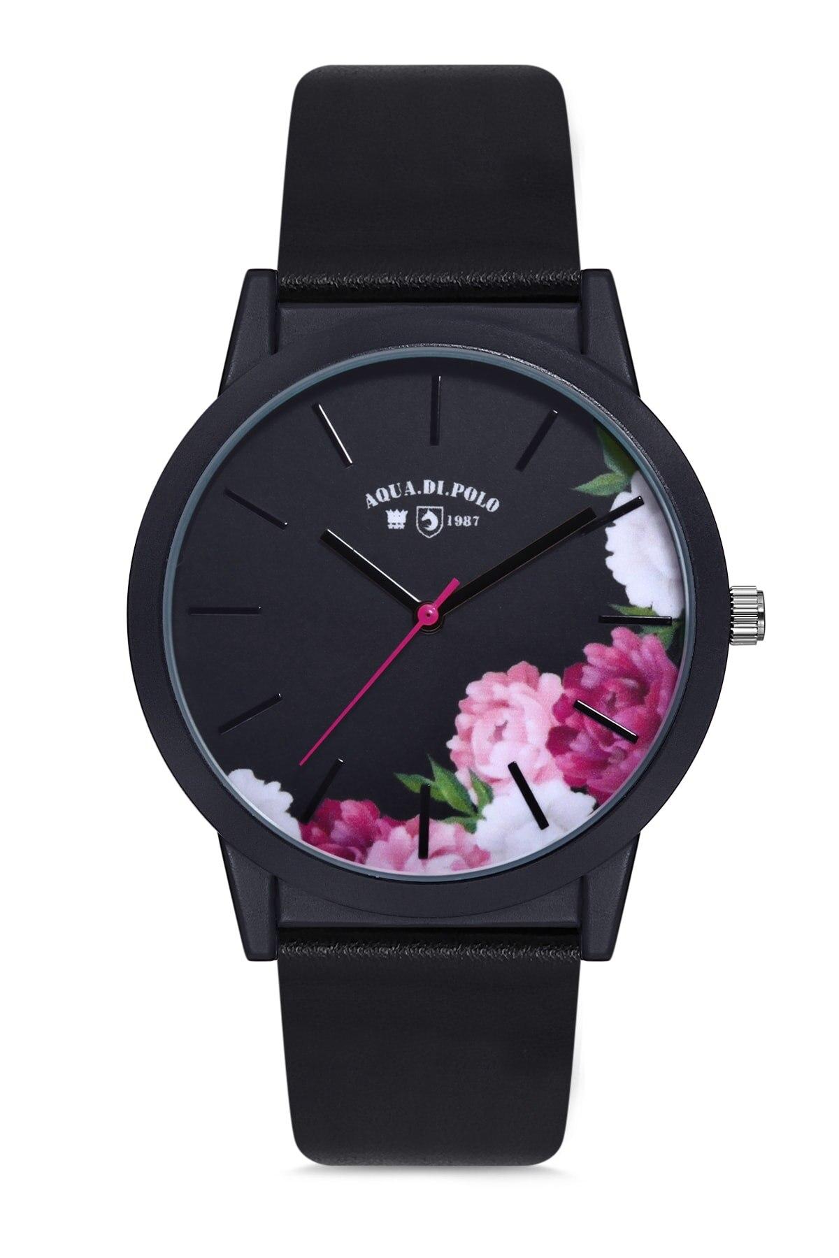 Reloj de pulsera Unisex para mujer, reloj de pulsera original, color Negro, Rosa y dorado, APL12C195H02