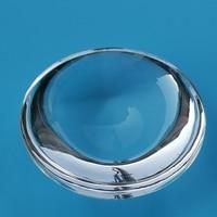 Lente convexa diâmetro 16mm distância focal 10mm amostra k9 vidro óptico mini lupa|Lentes| |  -