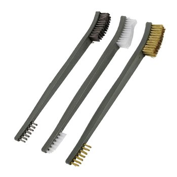 3PCS Rust Cleaning Industrial Wire Brush Stainless Steel Car Accessories
