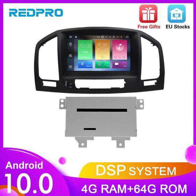 אנדרואיד 10.0 רכב dvd סטריאו רדיו נגן עבור אופל ווקסהול Insignia CD300 CD400 2009 2012 אוטומטי וידאו GPS ניווט מולטימדיה