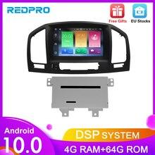 Reproductor Multimedia de radio y dvd para coche Android 10,0, reproductor de vídeo para automóvil Opel Vauxhall Insignia CD300 CD400 2009 2012, navegación GPS