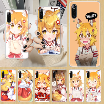 Senko The Helpful Fox anime Phone Case cover For XIAOMI redmi note K 4 5 6 7 8 9 10 20 30 3 A X Pro ultra transparent back image