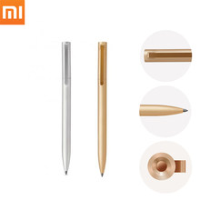 New 100% Original Smart Xiaomi Mijia Metal Sign Pen MI Pen 0.5mm Signing Pen PREMEC Smooth Switzerland Refill MiKuni Japan Ink(China)