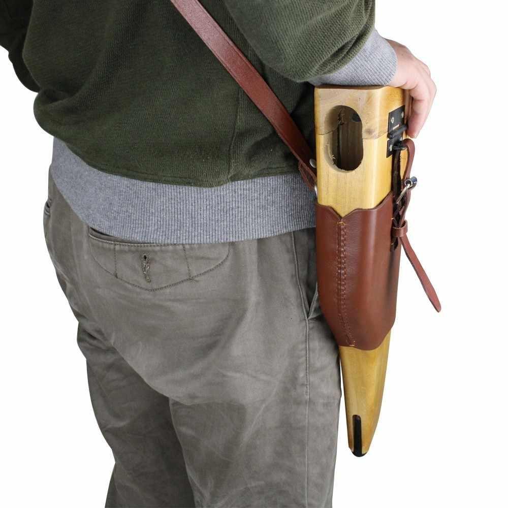 WW2 немецкая армейская маузер C96 деревянная кобура с кожаным ремешком охотничья кобура CN. DE
