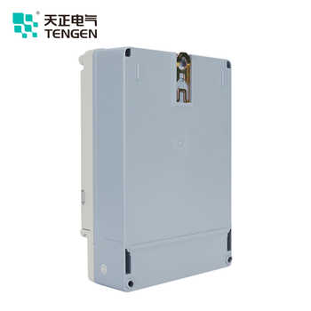 TENGEN New Structure DTSY256 3*220/380V 10(40)A class1.0 LCD with Infrared function and RS485 3 phase electric meter