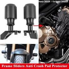 Rama motocykla suwak padowa osłona nadwozia Protector dla Honda CB650R CBR650R CB650F CBR650F CB CBR 650R ochrona przed upadkiem