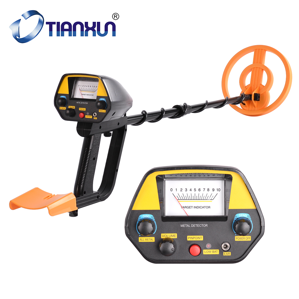 MD 4080 Waterproof Metal Detector Upgraded Hobby Underground Treasure Hunter Detecting Pinpointer Stretch Length 16 26Inches