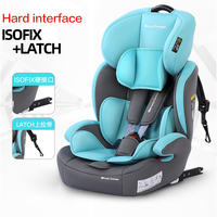 Isofix Latch Interface Child Safety Seat Baby Easy Folding Infant Car Car Portable Seat Car Seat Booster 9M 12years Old