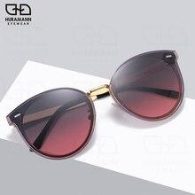 HURAMANN Sunglasses Women Polarized Luxury Brand Designer Shades Oversize UV400 Fashion Travel Eyewear 2020 New oculos de sol