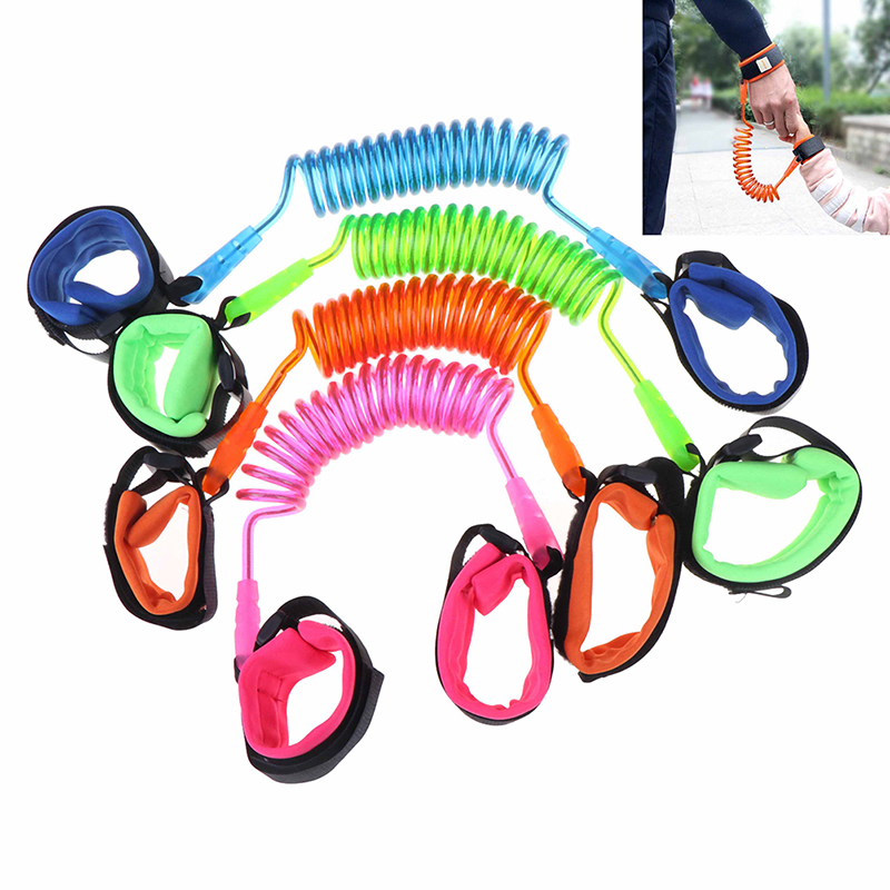Anti Lost Wrist Link Toddler Leash Safety Harnesses For Baby Strap Rope Outdoor Walking Hand Belt Band Anti-lost Wristband Kids