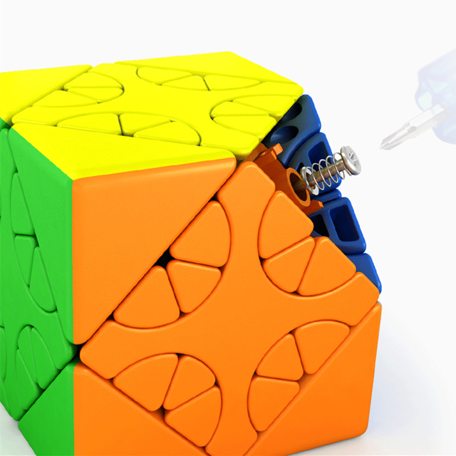 MOYU HunYuan Oblique Turning Cube—1 2 3 2020 New Magic Speed Cube Professional Puzzle Toys For Children Kids Cubo Magico Gift 6