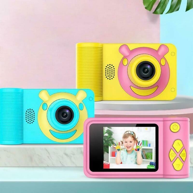 2020 Children Birthday Gift Educational Toy Children Toy 2 Inch Camera Kids Digital Camera 1080p HD Large Screen Mini Camera Toy
