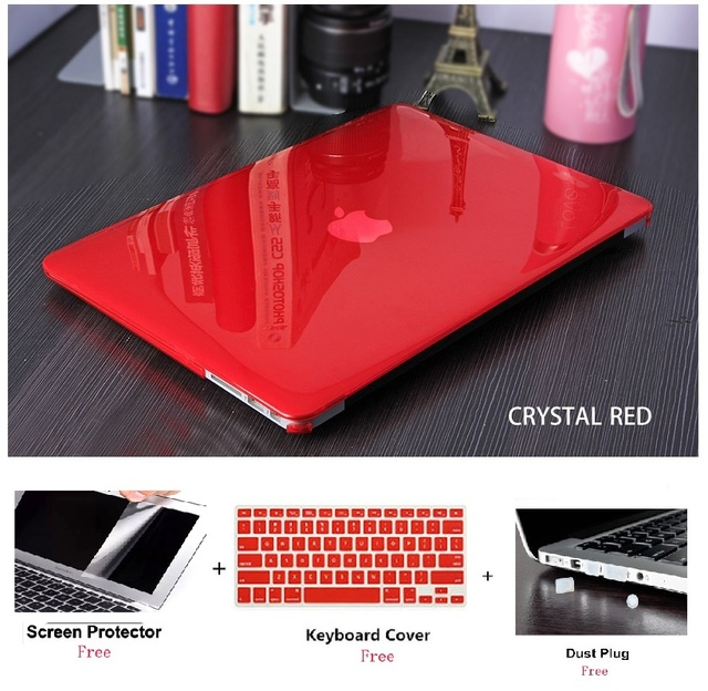 Crystal Laptop Case For Apple Macbook Air Pro Retina 11 12 13 15 inch For Macbook New Pro 13 15 TouchBar A12159 A1990 shell case