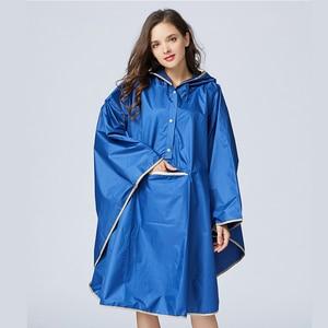 Image 5 - Manteau de pluie imperméable pour hommes, bonne qualité 1 pièce, coupe vent à capuche, manteau de pluie durgence pour femmes