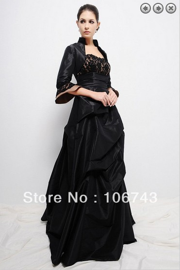 Free Shipping Formal Evening Elegant Dress 2016 New Brides Maid Vestidos Formales Long Mother Of The Bride Dresses With Jacket
