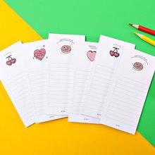 50 листов с изображением милых сердечек Блокнот милые канцелярские принадлежности N раз бумаги для заметок на клейкой основе Портативный бл...