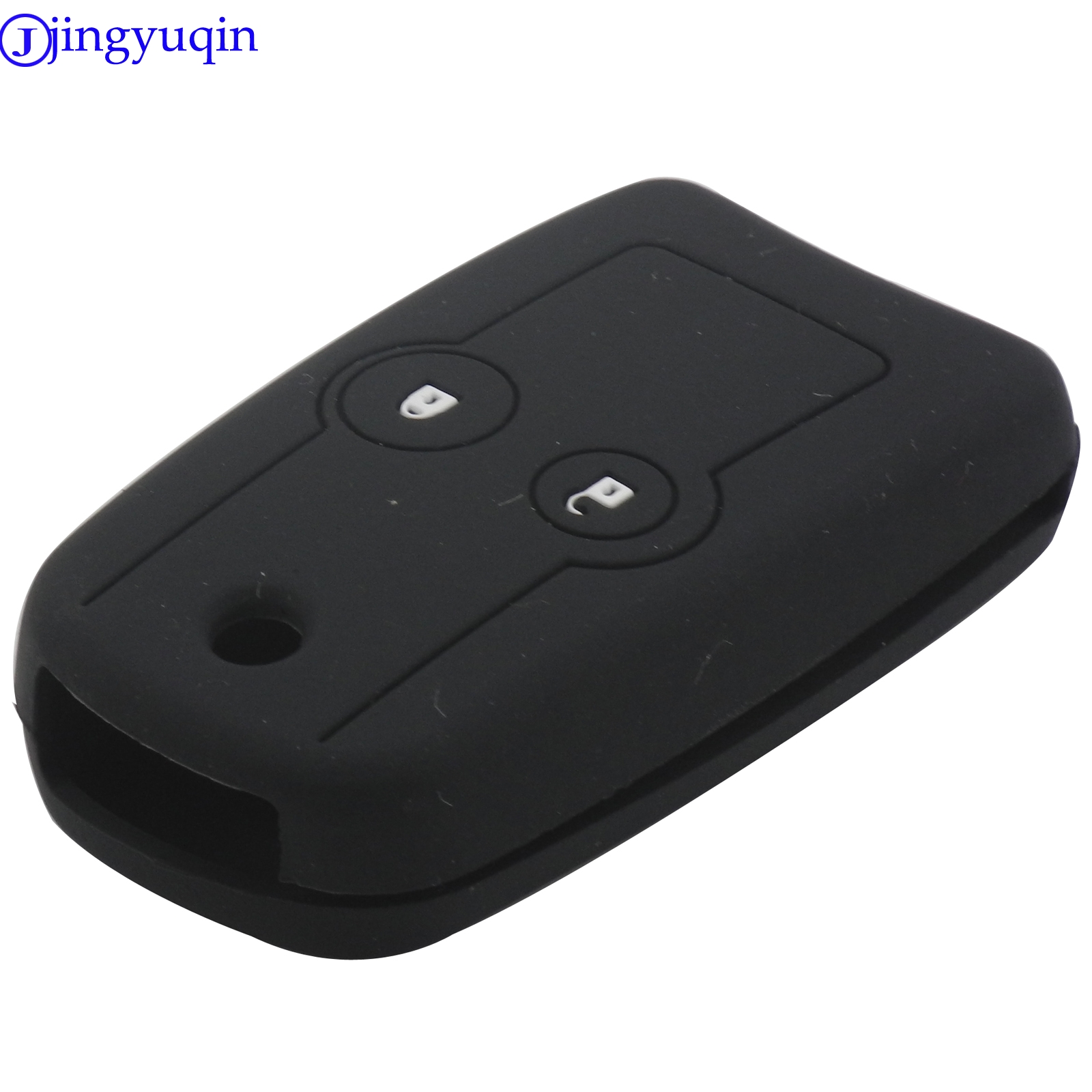 jingyuqin New <font><b>Remote</b></font> Car Key Fob Silicone Case Cover Protector For <font><b>Honda</b></font> <font><b>Accord</b></font> CRV Odyssey FIT CITY 2 Button <font><b>Flip</b></font> Folding image