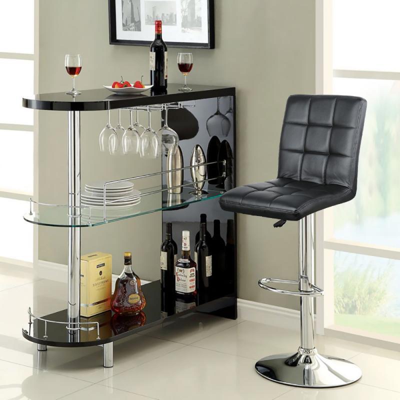 2pcs Modern Bar Stool Bar Chair Hightool Bar Stools Adjustable Bar Chair Without Armrests For KitchenTool HWC