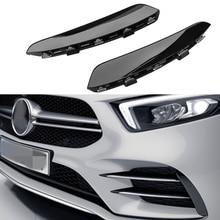 Для Mercedes Benz A Class W177 AMG A180 A200 A250 A35 передний бампер противотуманная фара вентиляционное отверстие крышка Накладка зажим аксессуары для стайлинга автомобилей