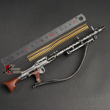 Plastic Wwii-Weapon Model-Assembly Military-Toys MG42 98k MG34 MP44 Automatic 1/6-Scale