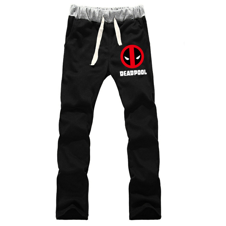 Deadpool Cute Marvel Heroes Avengers Movie Related Products Men's Sweatpants Casual Athletic Pants Sweatpants Men's