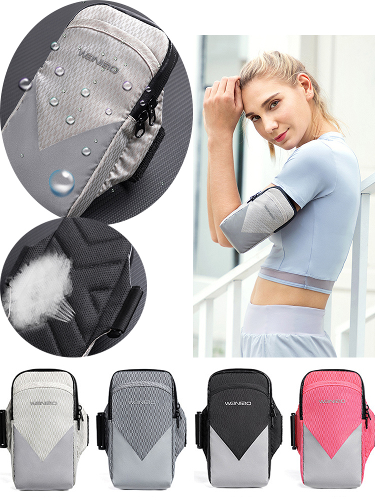 Armband-Bag Cover-Holder Jogging iPhone Running Samsung Case Universal Sport Gym Waterproof