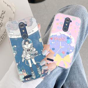 Dirt-resistant Anti-knock Phone Case For ZTE Blade Z MAX Pro Z981 New Dropshipping Cartoon