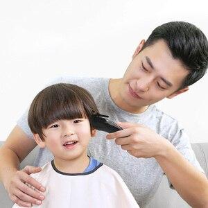Image 4 - Youpin ENCHEN שארפ 3S שיער גוזז גברים חשמלי מכונת חיתוך מקצועי נמוך רעש Hairdress 1 20mm עבור למבוגרים וילדים