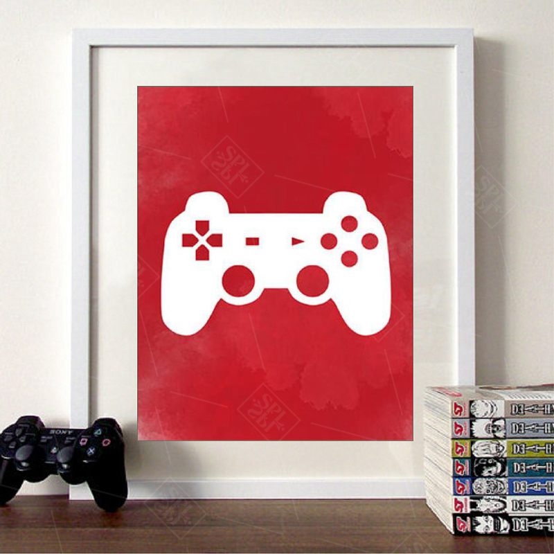 Video-Game-Wall-Art-Canvas-Posters-Prints-Gaming-Room-Decor-Video-Game-Party-Art-Painting-Pictures (2)