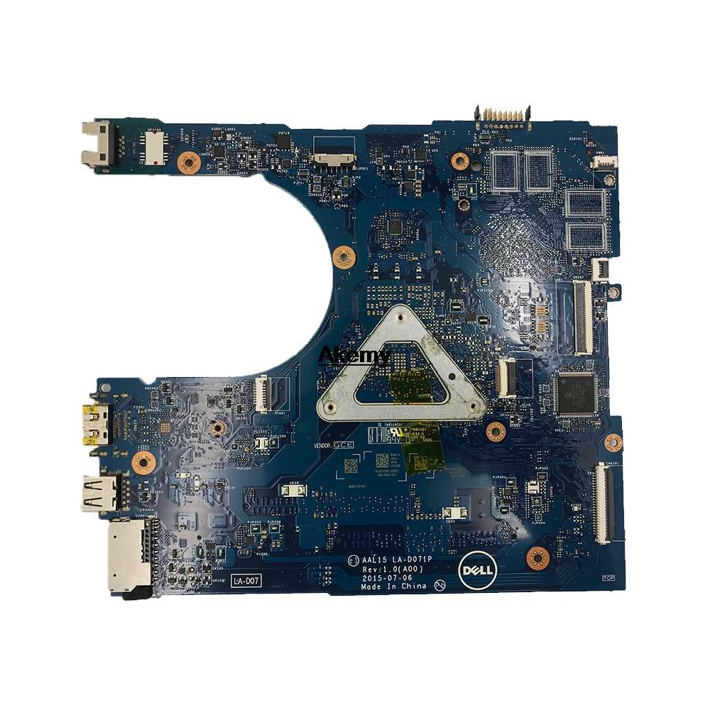 Untuk Dell 5559 Motherboard Laptop dengan SR2EU I3-6100U CPU AAL15 LA-D071P CN-027G19 027G19 27G19 Mainboard 100% Diuji Kapal Cepat