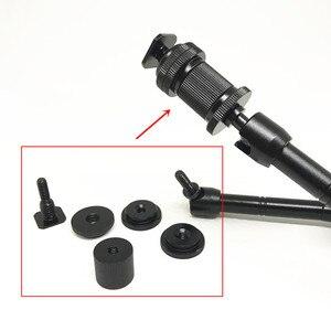 """Image 2 - Jadkinsta 11 """"Cal przegubowe magiczne ramię + 15mm zacisk pręta + duży Super zacisk duże szczypce krabowe klip Monitor HDMI LED Light"""