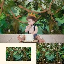 Портретные фоны для студийной фотосъемки с изображением леса