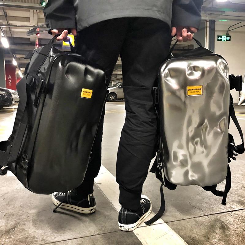 Mochila para hombre bolsa de daños por golpes de diseño de alta gama tendencia ins de corta distancia de viaje de entrenamiento deportivo de fitness mochila de viaje - 2