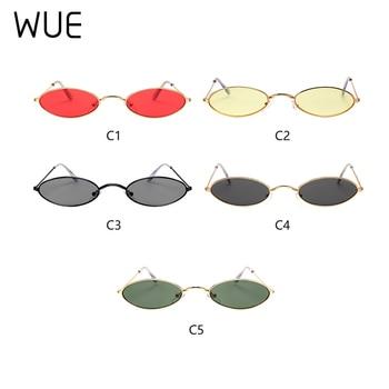 Retro Small Oval Sunglasses Women Female Vintage Hip Hop Balck Glasses Retro Sunglass lady Luxury Brand Eyewear 6