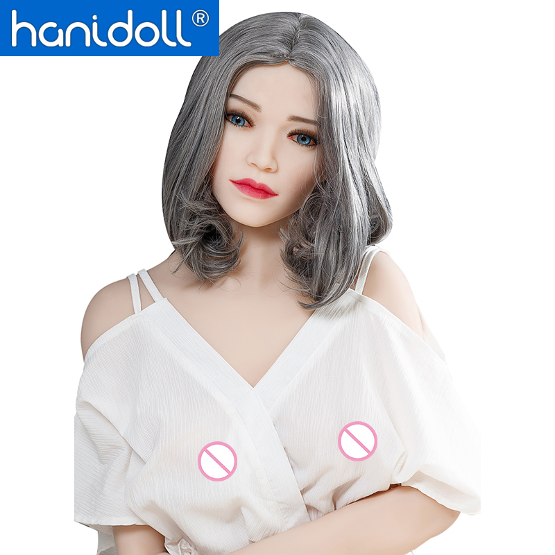 Hanidoll Silicone Sex Dolls 165cm Love Doll Male Vagina Small Breast Anal Real Toys for Men Adult