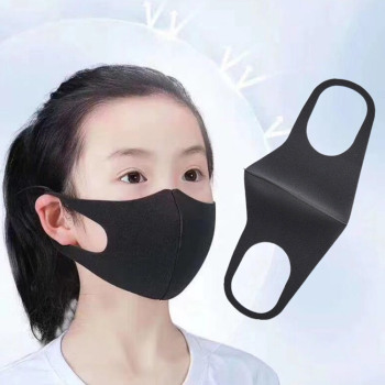 4-10 Years Child Kids face mask Breathable Prevent Pollution face mask Filtration Dust PM2.5 Mouth Muffle Bicycle Mask