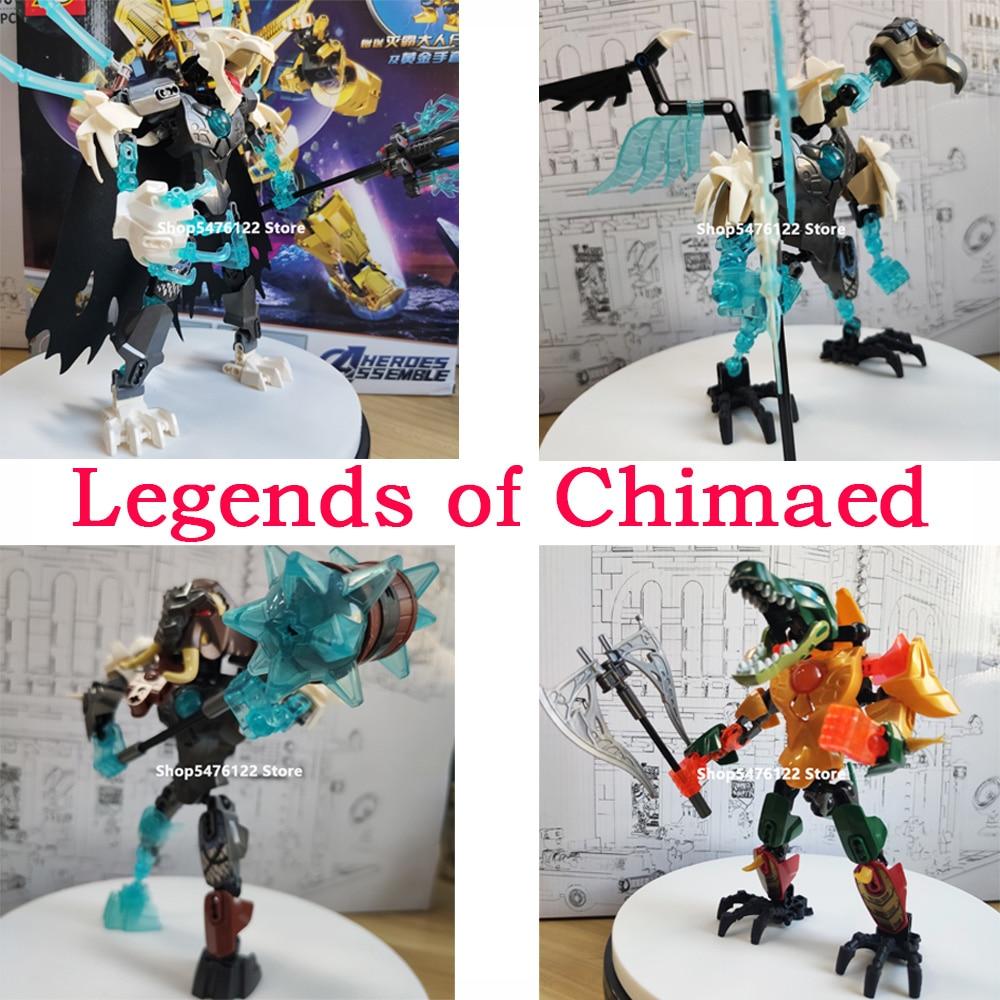 Legends Of Chimaed Building Block Toy KSZ XSZ 70200 70201 70202 70203 70204 70205 70206 70207 70208 70209 805 806 807 808 809