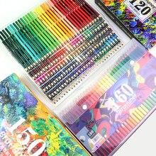 Brutfuner 48/72/80/120/150/160/180 цветные s профессиональные масляные/водные цветные акварельные цветные карандаши художественный Рисунок эскиз цветной ...
