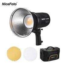 NiceFoto HB 1000BII Cầm Tay Ánh Sáng Ban Ngày Cob Gắn Kết Bowens Đèn LED Video Với Ứng Dụng Bluetooth Điều Khiển Pin Sạc Bộ Lọc Màu
